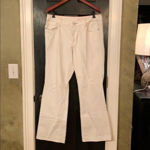 DKNY Jeans off white size 12
